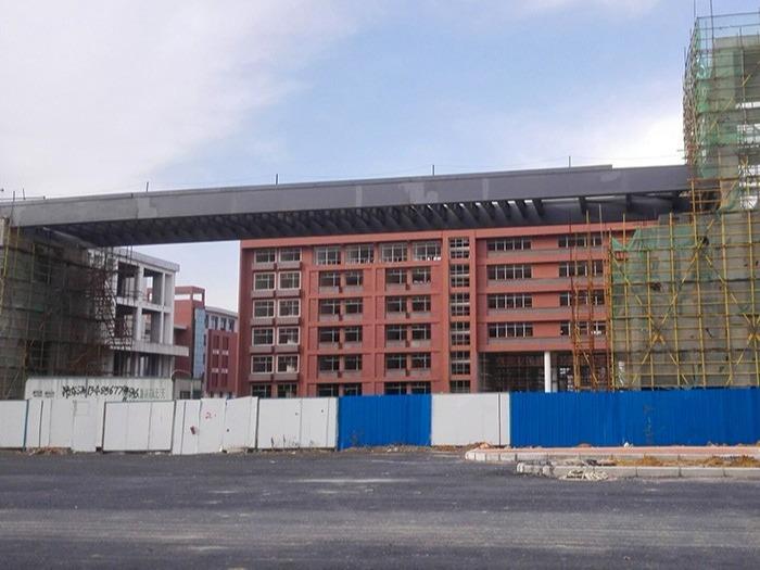 合肥市蜀山高级中学抗震组合支架项目案例