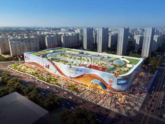 南京溧水万达广场组合抗震支架项目案例