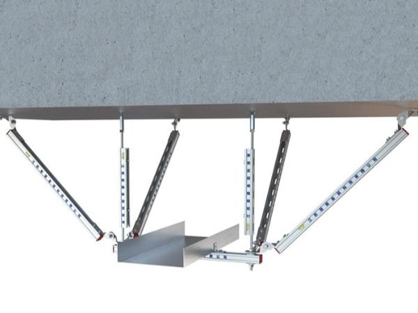 桥架双吊双向支架